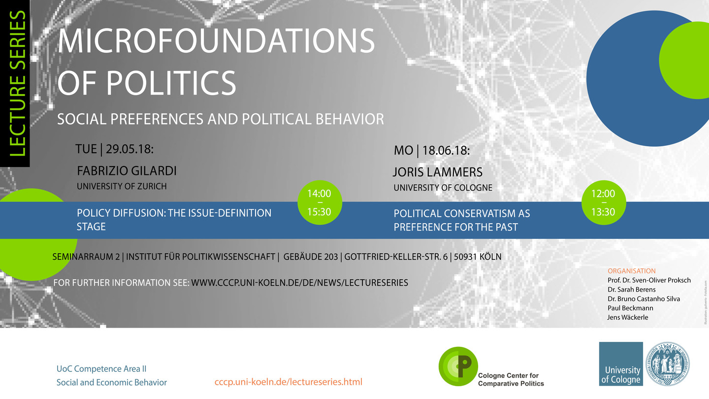 Lecture Series: Microfoundations of Politics